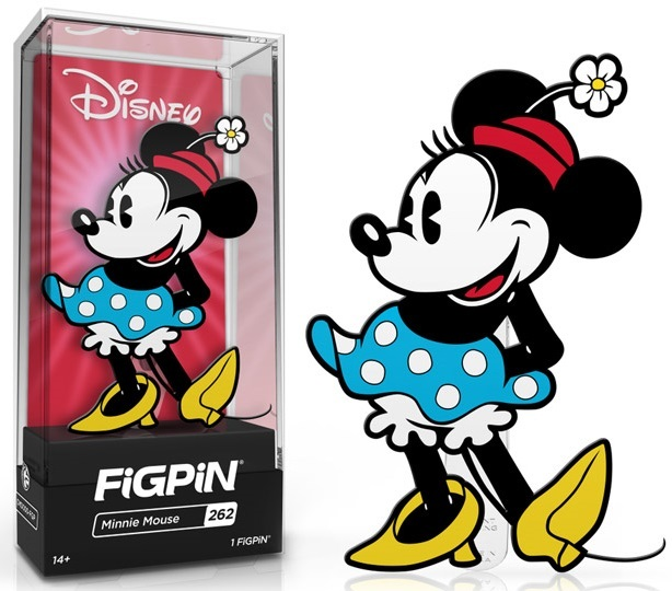 Mickey and Friends: Minnie Mouse (#262) - Collectors FiGPiN