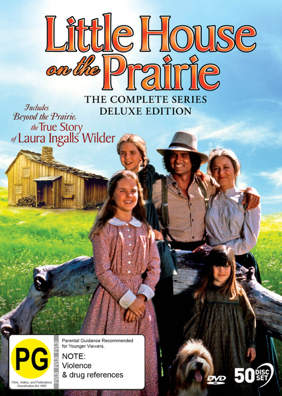 Little House On The Prairie: The Complete Series (Deluxe Edition) on DVD