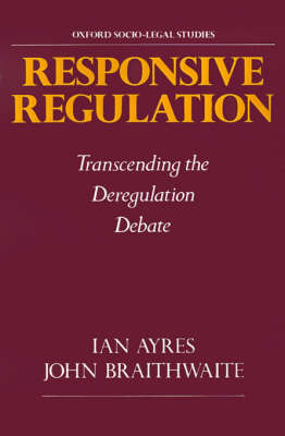 Responsive Regulation by Ian Ayres image