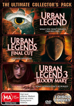 Urban Legend Trilogy Pack (3 Disc Set) on DVD