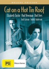 Cat On A Hot Tin Roof - Deluxe Edition on DVD