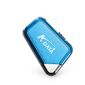 A-Data MyFlash PD17 Keychain USB 2.0 2GB Blue