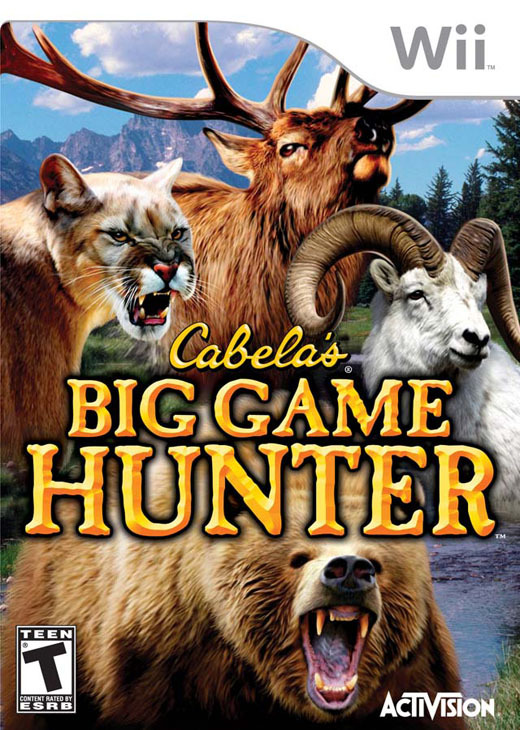 Cabela's Big Game Hunter for Nintendo Wii