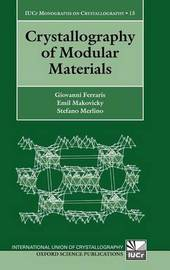 Crystallography of Modular Materials by Giovanni Ferraris