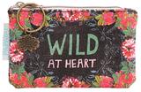 Papaya Small Coin Purse - Wild At Heart