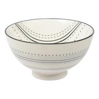 Etta Black and White Masa Small Bowl (11cm)