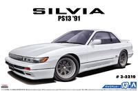 Aoshima: 1/24 Nissan PS13 Silvia K's '91 - Model Kit