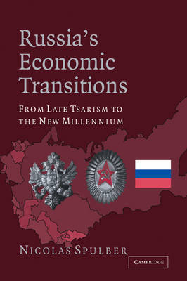 Russia's Economic Transitions by Nicolas Spulber image