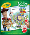 Crayola: Colour & Sticker Book - Toy Story 4