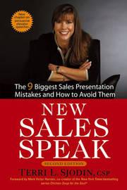 New Sales Speak by Terri L. Sjodin image