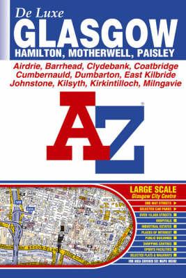 Glasgow De Luxe Street Atlas by Great Britain image