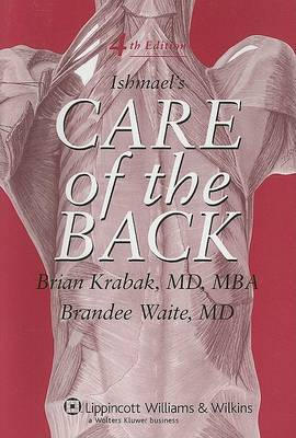 Ishmael's Care of the Back by William K. Ishmael image