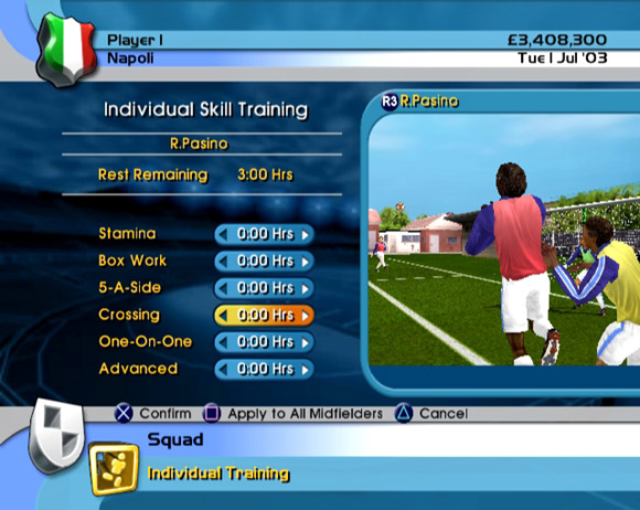 LMA Manager 2004 for PS2 image
