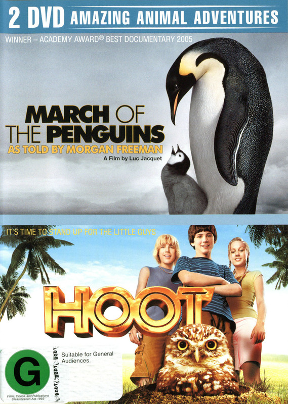 March Of The Penguins / Hoot (2 Disc Set) on DVD
