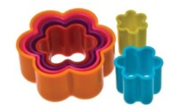 Flower Cookie Cutter - Set of 6