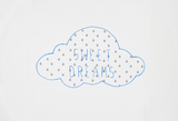 Home-Lee Pillowcase - 'Sweet Dreams' - Blue