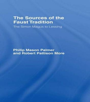Sources of the Faust Trad Cb by Robert P. More