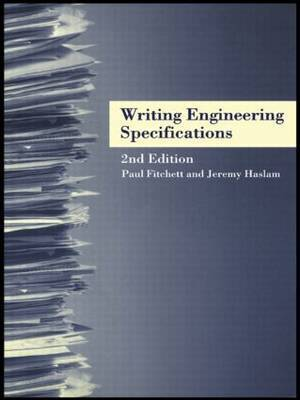 Writing Engineering Specifications by Paul Fitchett