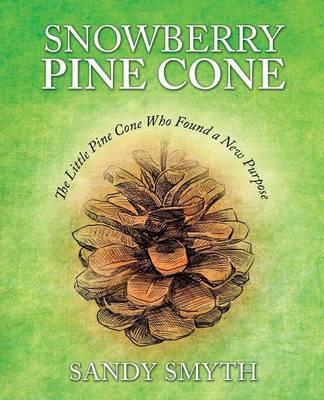 Snowberry Pine Cone by Sandy Smyth