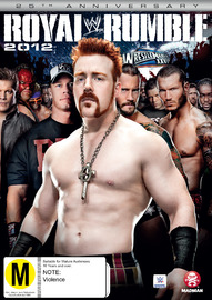 WWE: Royal Rumble 2012 on DVD