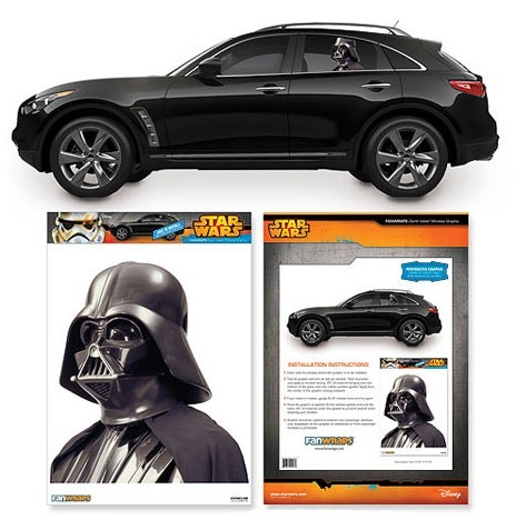 Star Wars: Darth Vader - Passenger Series Car Decal image