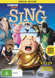 Sing on DVD