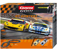 Carrera GO!!! GT Contest (Ferrari vs Corvette)