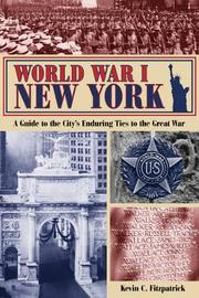 World War I New York by Kevin C Fitzpatrick