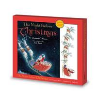 The Night Before Christmas: Book & Tree Ornament by Clement C. Moore