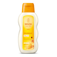 Weleda: Calendula Baby Oil - Fragrance Free (200ml)