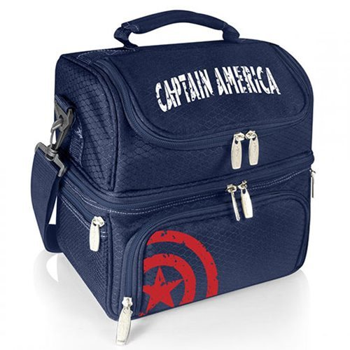Captain America: Pranzo Lunch Tote Bag