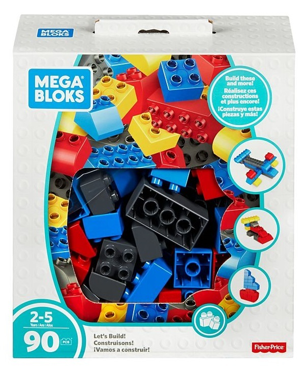 Mega Bloks: Building Basics - Let's Build Jumbo Box
