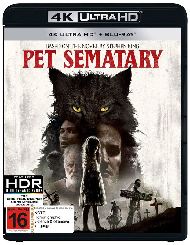 Pet Sematary (2019) (4K UHD + Blu-ray) on UHD Blu-ray