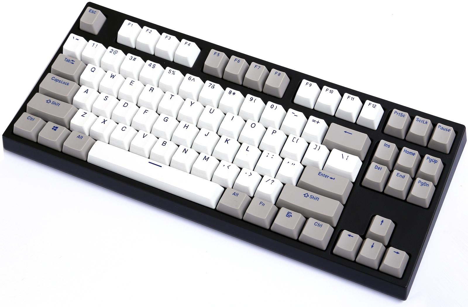 KBParadise VX80 MX Silent Red TKL Mechanical Keyboard Olivette Neo image