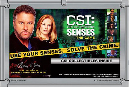 CSI: Senses Game image
