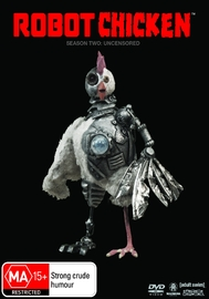 Robot Chicken - Season 2 on DVD image