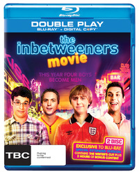 The Inbetweeners Movie (Double Play Blu-ray + Digital Copy) on Blu-ray, DC