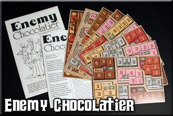 Enemy Chocolatier - economic strategy game
