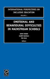 Emotional and Behavioural Difficulties in Mainstream Schools