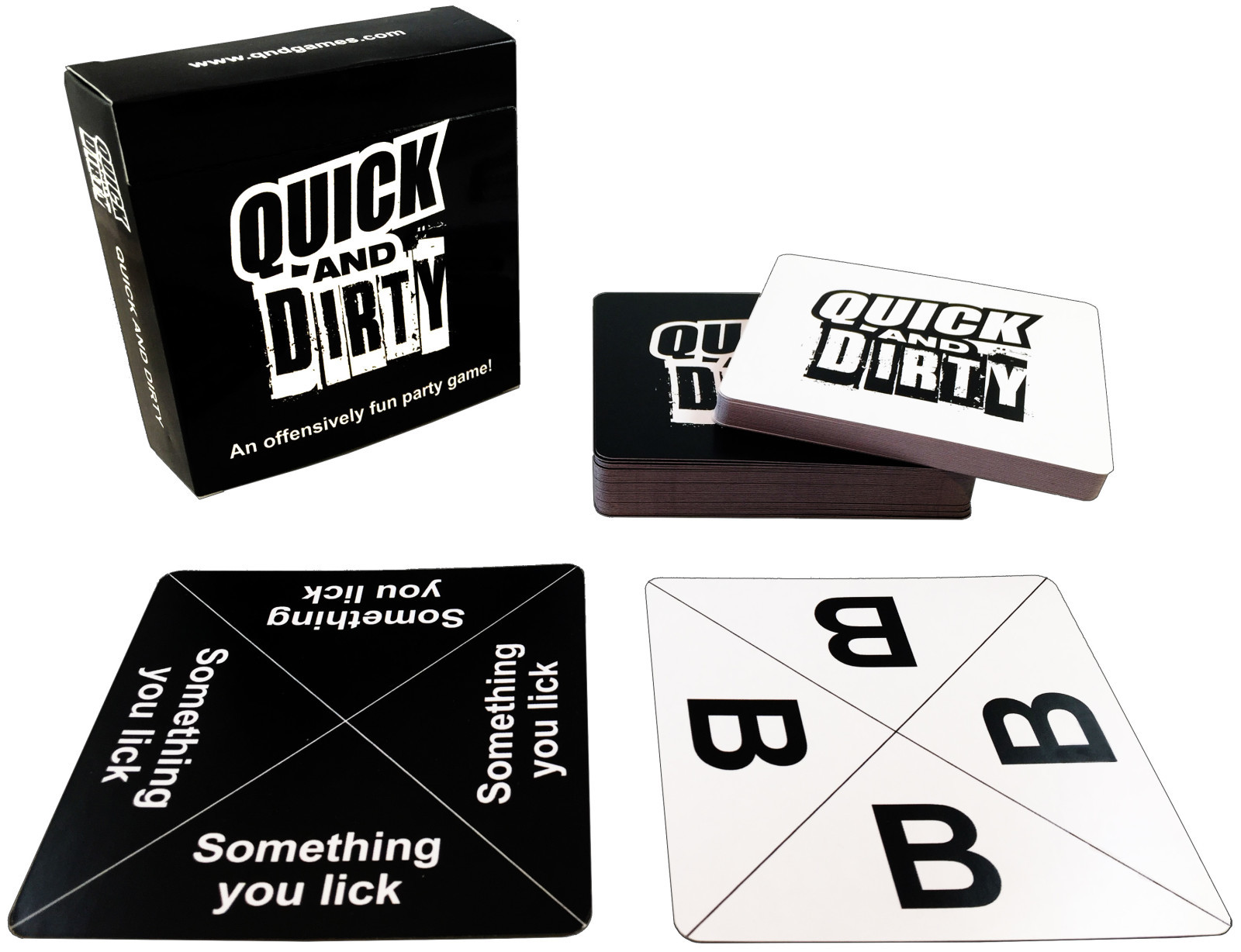 Quick and Dirty: Black Edition - An Offensively Fun Party Game image