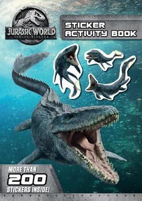 Jurassic World: Fallen Kingdom Sticker Activity Book