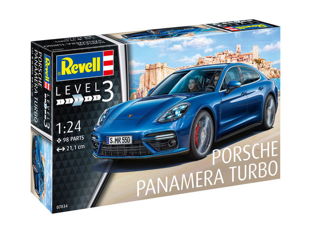 Revell 1/24 Porche Panamera Turbo - Scale Model Kit