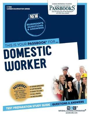 Domestic Worker by National Learning Corporation image
