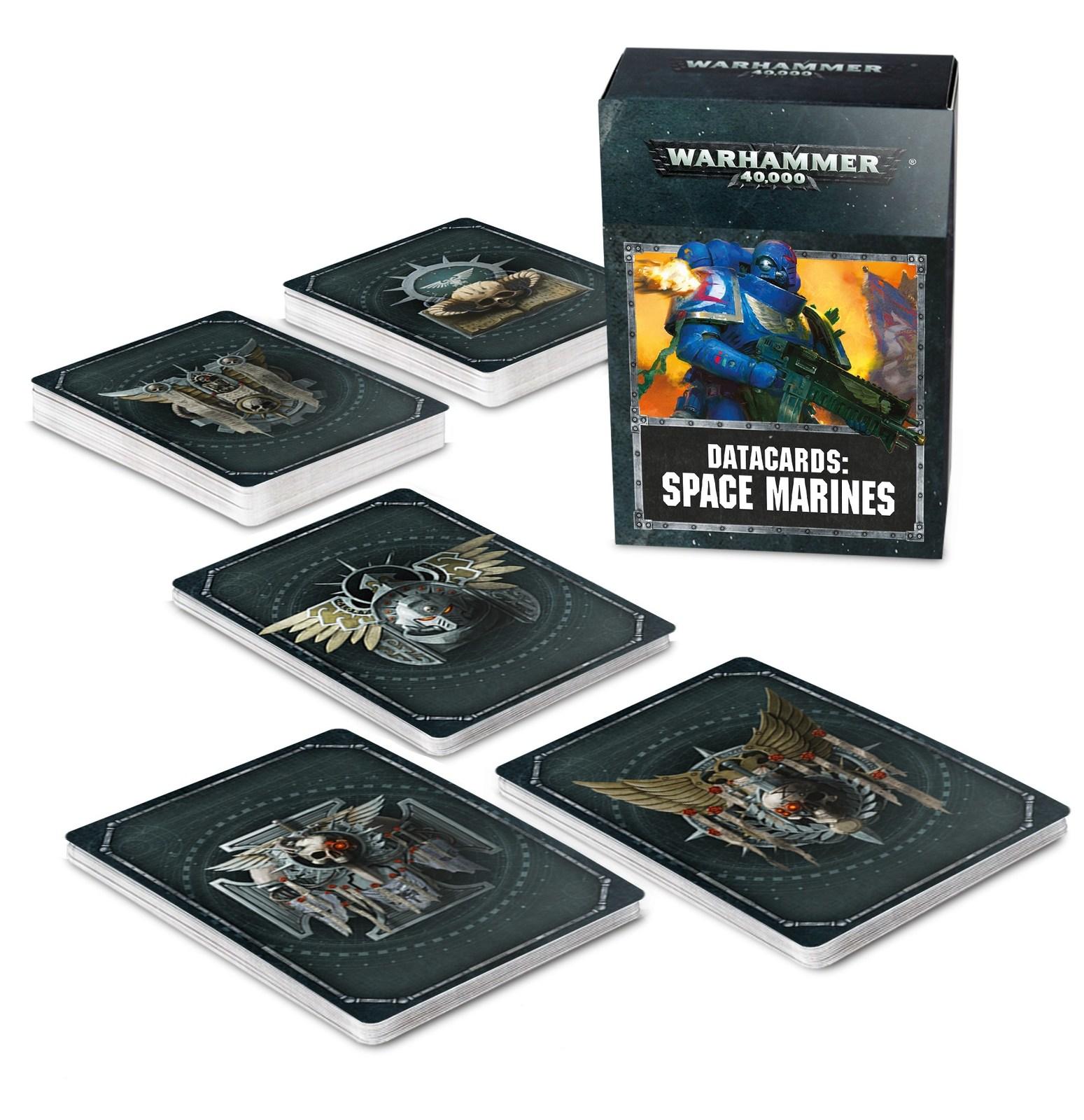 Warhammer 40,000 Datacards: Space Marines image