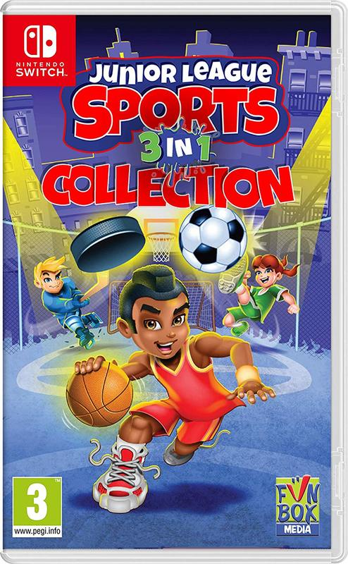 Junior League Sports 3-in-1 Collection for Switch