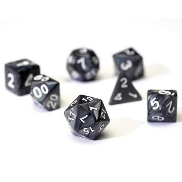 Sirius Dice Polyhedral Dice Set- Pearl Grey