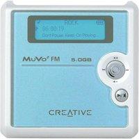 CREATIVE LABS Creative Muvo Square Blue 5GB FM MP3 Player image