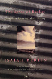 The Sense Of Reality by Isaiah Berlin image