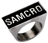 Sons of Anarchy SAMCRO Logo Ring (Size 12)