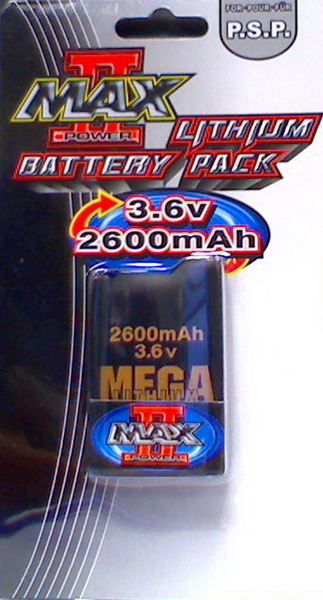 Mega Battery Pack 2600mAh for PSP image